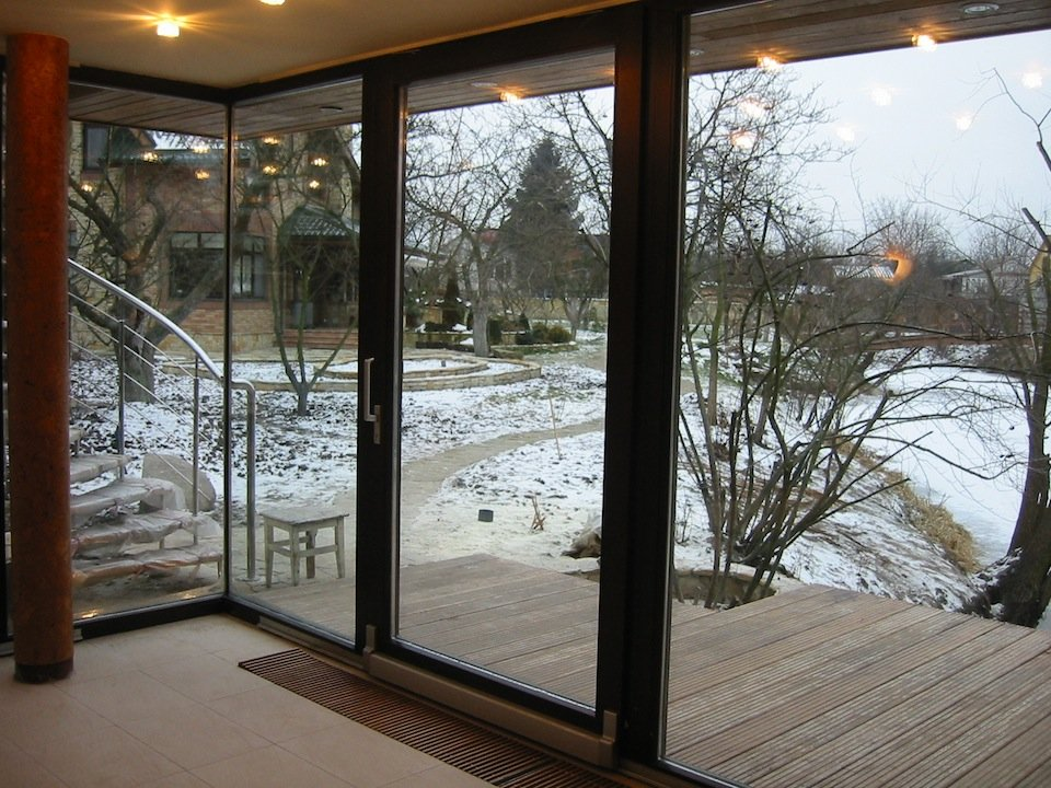 Раздвижные окна со стеклопакетом для лоджии. - недорогие, ка.